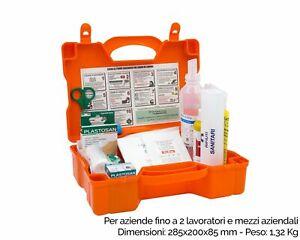 FARMA3 CASSETTA MEDICA PRIMO PRONTO SOCCORSO 2 lavoratori AZIENDE GRUPPO C