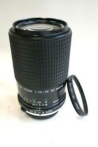 Olympus fitting 80-200mm/f4.5-5.6 Prinzflex zoom lens + filter