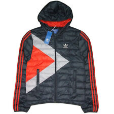 adidas Originals Men's Bobsled Down Jacket Padded Warm Winter Thrermal Small