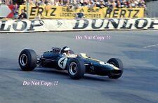 Jim Clark Lotus 33 Monaco Grand Prix 1966 Photograph 4