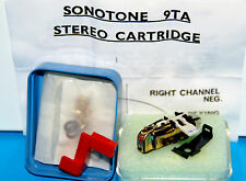Sonotone Crystal Stereo Cartridge 9TAG 9t Made in UK Last This