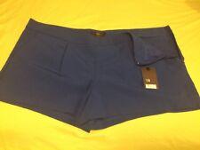NWT Mossimo 18 Size (fits Like XL/1X?) Pocket Shorts Casual Royal Blue Z25