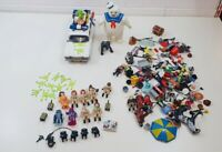 Job Lot Playmobil Ghostbusters Bundle Including Marshmallow Man And Ecto 1 Car