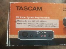 TASCAM US-100. USB AUDIO INTERFACE