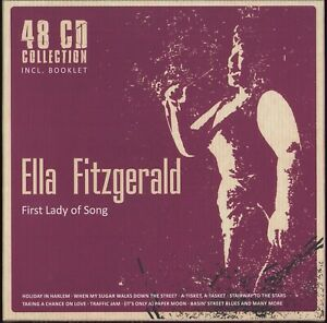 Ella Fitzgerald - First Lady Of Song (Documents 233881) 48xCD Box 2012