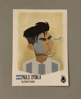 Paulo Dybala Panini Tschutti heftli Trading Card - World Cup 2018 Sticker