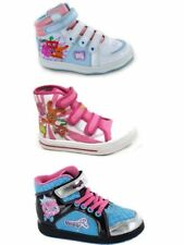 Party Baby Girls' Canvas Shoes with Hook & Loop Fasteners