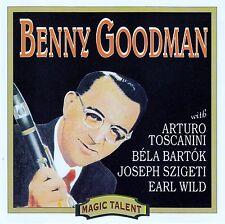BENNY GOODMAN : MAGIC TALENT / CD - TOP-ZUSTAND