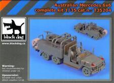 Blackdog Models 1/35 AUSTRALIAN MERCEDES 6x6 LAND ROVER Complete Resin Kit