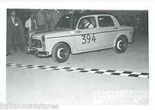 Fiat 1100 IV Trofeo Supercortemagiore 3 Sett. 1955 Original Race Photograph 394