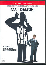THE INFORMANT! - DVD (USATO EX RENTAL)