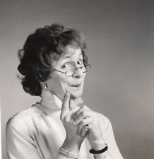 Journalist Laurent Broomhead Dressed as a Woman Old Photo 1980's