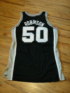 DAVID ROBINSON GAME WORN USED 1994/95 SAN ANTONIO SPURS JERSEY HOF CHAMPION