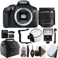 Canon EOS 1300D DSLR Camera with 18-55mm EF-S IS STM Lens and Accessory Kit