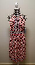 "LONDON TIMES DRESS ""1960's"" INSPIRED HALTER DRESS, Sz L/12 (#1351)"