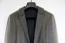 $120K Dior Homme Couture Gold Beaded Sequins Leather Jacket Hedi Slimane 44