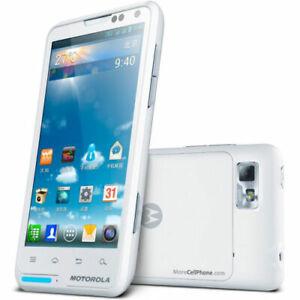 "Motorola Moto XT-615 Unlocked Android Smartphone 4.0"" 8MP White"