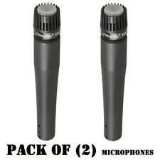 Lot of (2) Pyle PDMIC78 Professional Moving Coil Dynamic Microphone W/ 15Ft XLR