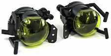 YELLOW FOG LIGHTS & FITTING BRACKETS FOR BMW 6 SERIES E63 & E64 2003-2010 MODEL