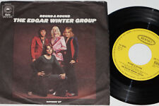 """THE EDGAR WINTER GROUP -Round & Round / Catchin' Up- 7"""" 45 Epic Records"""