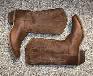 Justin Boots 12d. Justin Boots BR251 Keaton Cognac. Bent Rail Made In USA