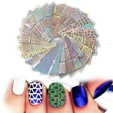 24pcs Nail Art Transfer Stickers 3D Design Manicure Tips Decal Decoration Tool