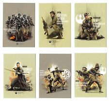 2017 Topps Star Wars Rogue one Series 2 Prime Forces 10 Card Set PF-1 PF-10 JYN