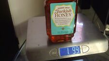 Bottle Trader Joe's Turkish Honey 24oz  680g Kosher from Bee Expert  w/5y study