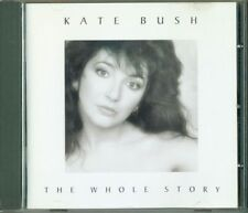 Kate Bush - The Whole Story Early Italy Press Cd Eccellente