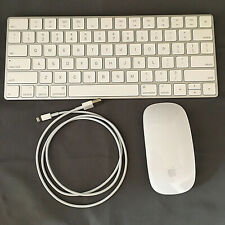 Apple iMac A1644 Magic Keyboard and A1657 Mouse Wireless Bluetooth Charger Cord