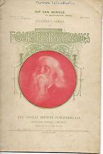 February 15,1900 Vol 1 No. 2 Four Penny Classics Rip Van Winkle Student's Series