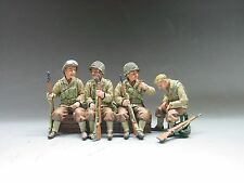KING & COUNTRY D DAY DD040 U.S. INFANTRY TRUCK PASSENGERS MIB