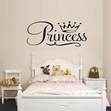 "Princess Vinyl Wall Decal Décor 12"" x 28"""