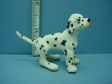 Dollhouse Miniature Dalmatian Dog Puppy #A690 Falcon 1/12th Scale Made of Resin