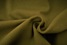 D5 EARTHY TAUPE COLOUR SOFT MELTON LUXURIOUS FINE WOOL BLEND MADE IN ITALY