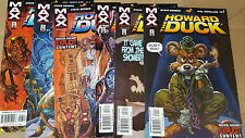 from Avengers Comic lot howard the duck 1-6 nm bagged