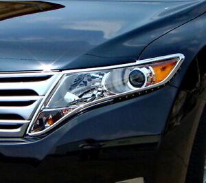 IDFR Toyota Venza 2011~2014 Chrome frame bezel for head lights