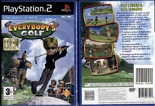 EVERYBODY'S GOLF - PS2 NUOVO E SIGILLATO, PRIMA EDIZIONE ITALIANA