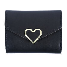 Women Leather Coin Purse Tri-fold Small Short Wallet Bag Key Credit Card Holders