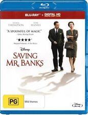 SAVING MR BANKS New Blu Ray + HD Copy TOM HANKS EMMA THOMPSON ***