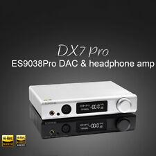 TOPPING DX7 Pro ES9038PRO CSR8675 DAC LDAC Bluetooth 5.0 DSD1024 Headphone Amp