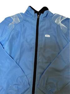 NWOT! Louis Garneau Women's Dualistic Cycling Softshell Jacket Size Large Blue