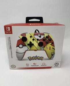 PowerA Pokemon Enhanced Wired Controller Nintendo Switch- New Sealed