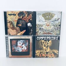 Green Day Insomniac Dookie Bad Religion No Substance Offspring Smash Cd Lot