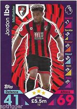 2016 / 2017 EPL Match Attax Base Card (12) Jordon IBE AFC Bournemouth