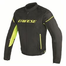 Dainese D-Frame Tex Jacket Black Yellow - All Sizes! - Fast Shipping