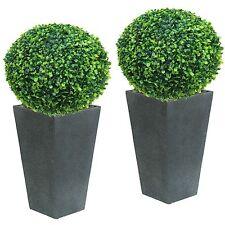 2 x ca. Ø 27 cm  (2 Stück SET CLASSIC) Buchsbaumkugel Buchsbaum, wie echt!