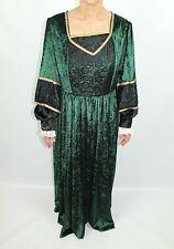 """Women's Medieval Lady Green Dress UK 40"""" Fancy Dress  (153)"""