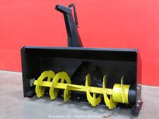 """Greatbear 68"""" Snow Thrower Blower Hydraulic Skid Steer Attachment bidadoo -New"""