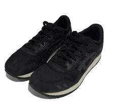 Asics Gel Lyte III Men's Sneakers Training Shoes Sz 7 Black Suede
